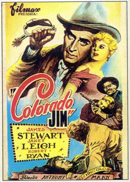 robert ryan, janet leigh, the naked spur (1953, dir